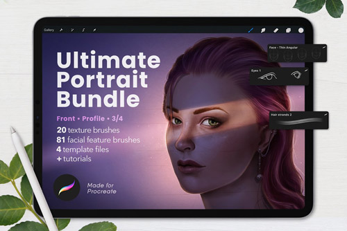 Ultimate Procreate Portrait Bundle.jpg