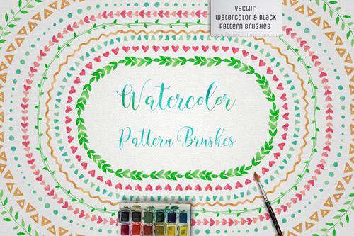 Watercolor Pattern Brushes.jpg